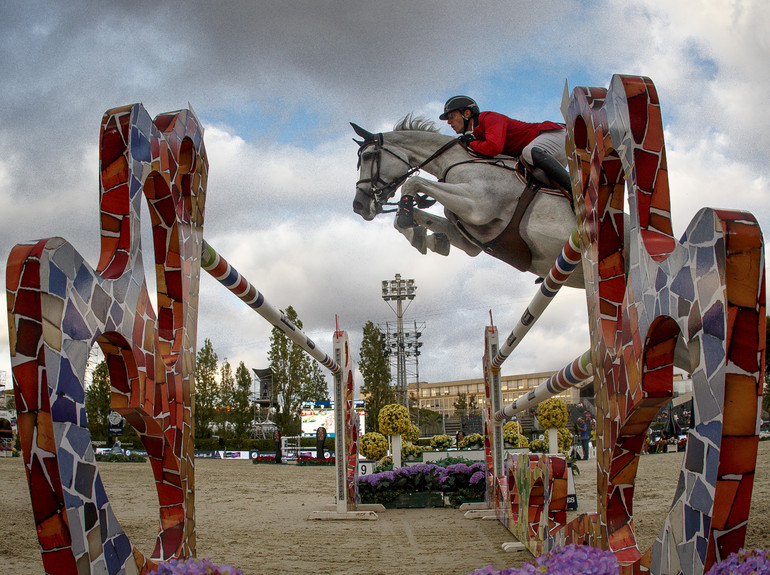 Wathelet Gregory, (BEL), Coree de HusFurusiyya FEI Nations Cup Jumping Final - Barcelona 2016© Hippo Foto - Dirk Caremans22/09/16